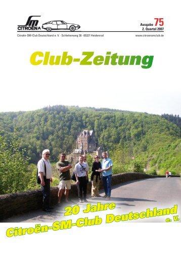 Service - Citroen-SM-Club Deutschland e.V.