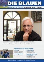 STÄDTETURNIER MAINZ - WIESBADEN für - FV Biebrich 02