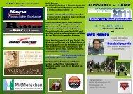 FUSSBALL – CAMP - CVJM Wiesbaden