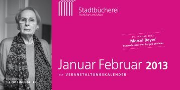 Januar Februar 2013 - Frankfurt am Main
