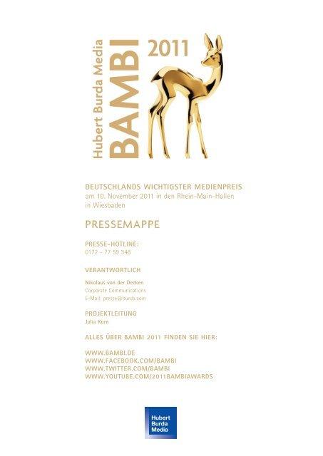 PRESSEMAPPE - Hubert Burda Media