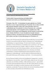 Home DGIM Pneumonie F - Deutsche Gesellschaft für Innere ...