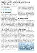 Weibliche Genitalverstümmelung in der Schweiz - Unicef - Seite 6