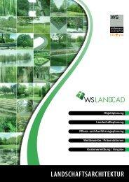 WS LANDCAD 2011 Landschaftsarchitektur - Widemann Systeme ...