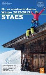 Winter 2012-2013 - Staes Vakanties