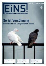 So ist Versöhnung - Deutsche Evangelische Allianz