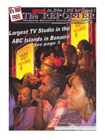 Photo taken at 1001 Proverbio TV rehearsal by ... - Bonaire Reporter