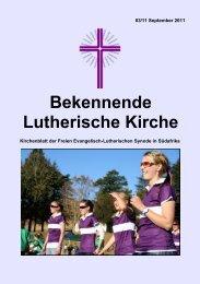 Bekennende Lutherische Kirche - Felsisa