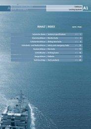 a1 inhalt   index - Wilhelm Albers Hamburg