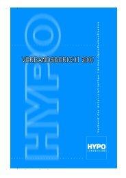 HYPO-VERBAND 2007 - Pfandbriefstelle der österreichischen ...