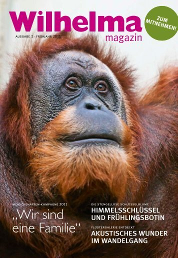 Wilhelma magazin 1/2011