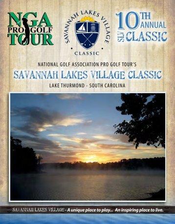 2012 Program - Savannah Lakes Village