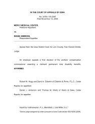 No. 9-554 / 08-2045 - Iowa Judicial Branch