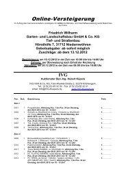 herunterladen - IVG mbH & Co. KG