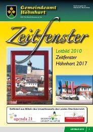 LEITBILD der Gemeinde Höhnhart (1,82 MB - Höhnhart - Land ...