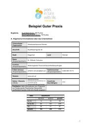 Beispiel Guter Praxis - Österreichisches Netzwerk Betriebliche ...