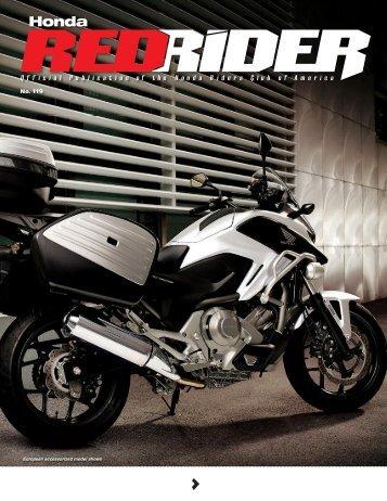 HRCA News - Honda Rider's Club of America