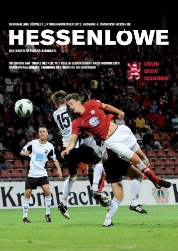 Löwen gegen rassismus - KSV Hessen Kassel - lopri communications