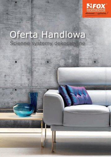 Oferta Handlowa - fox-dekorator