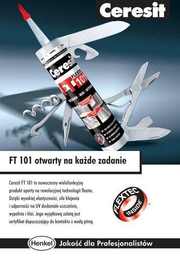 FT 101 otwarty na każde zadanie - Ceresit