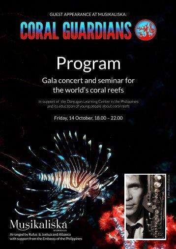 Program - Coral Guardians