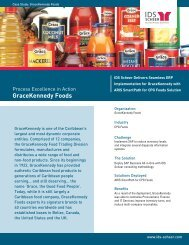GraceKennedy Foods - IDS Scheer AG