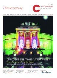 Theaterzeitung - Die Theater Chemnitz