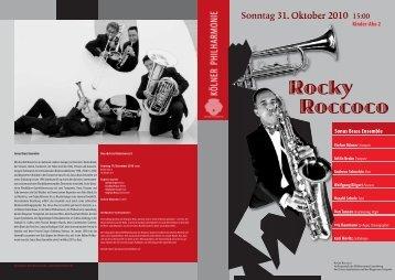 Sonus Brass Ensemble - Kölner Philharmonie