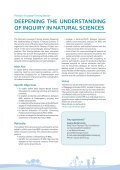 deepening the understanding of inquiry in natural sciences - Page 3