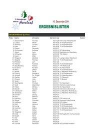 Ergebnisse 2011 - Herz- und Kreislaufzentrum Rotenburg