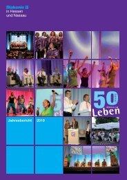 2010 Jahresbericht - Diakonisches Werk Hessen-Nassau