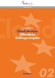 Leitfaden Cloud Services Öffentliche ... - EuroCloud.Austria