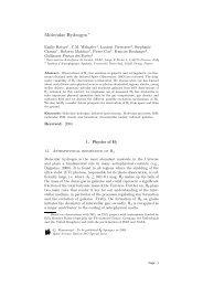 Molecular Hydrogen - ISO - ESA