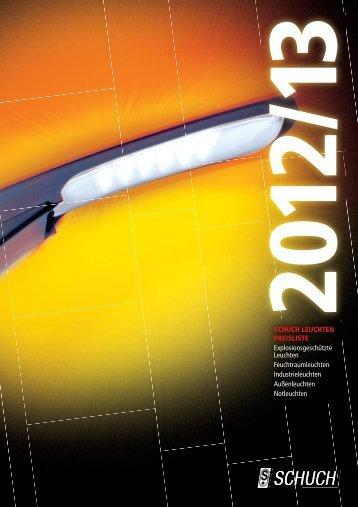Preisliste 2012/13 - Schuch