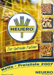 Preisliste 2007