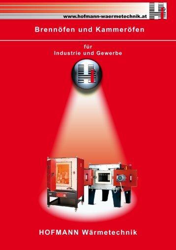 HOFMANN Wärmetechnik Brennöfen und Kammeröfen
