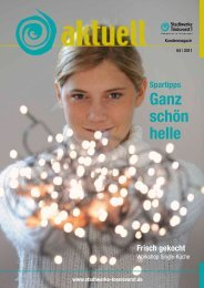 Ganz schön helle - NEW - Niederrhein Energie und Wasser Tönisvorst