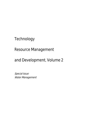 Water Resources Management - Agnos-online.de
