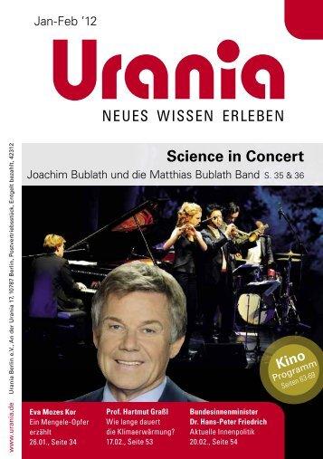 Science in Concert - Urania