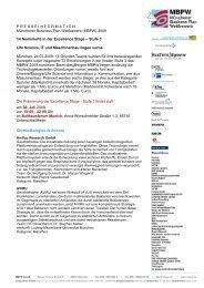 MBPW 2009-Stufe 3 Nominierte