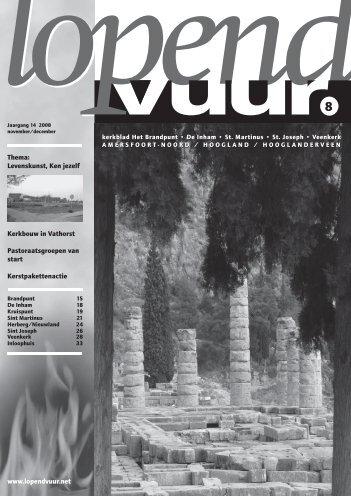 Lopend Vuur 2008, nr. 5. van juni/juli - Kerkplein Amersfoort