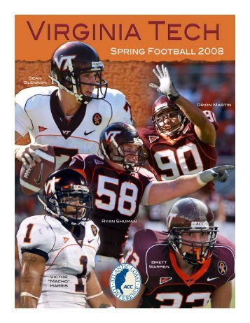 Sean Glennon Orion Martin Ryan Shuman Victor ... - Hokie Sports