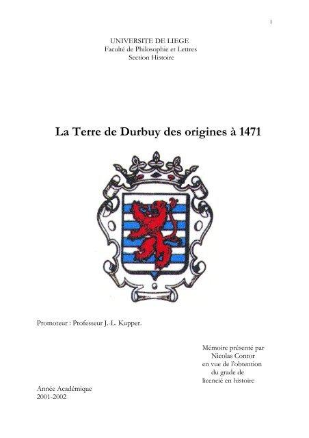 La Terre de Durbuy des origines à 1471 - Eglise romane Saint