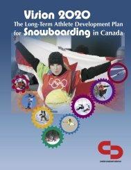 Long-Term Athlete Development - Canada~Snowboard