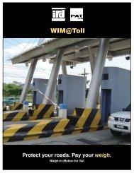 WIM@Toll - International Road Dynamics Inc.