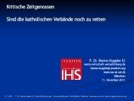 zu den Vortragsfolien - KKV Hansa München