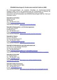 Erasmus-Beauftragten Praktikum - Erasmus Studierendenmobilität ...
