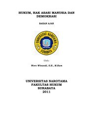 Hukum, Hak Asasi Manusia dan Demokrasi - Woro Winandi ...