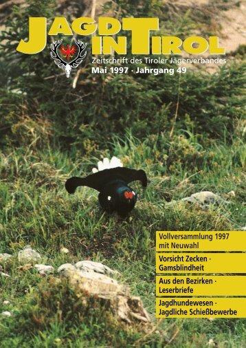 Neues über die Gamsblindheit - Tiroler Jägerverband