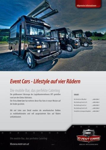Event Cars - Lifestyle auf vier Rädern